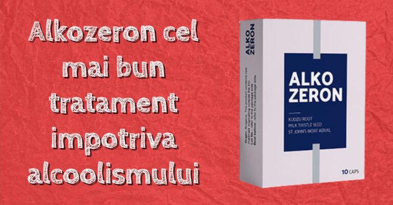 Alkozeron cel mai bun tratament impotriva alcoolismului