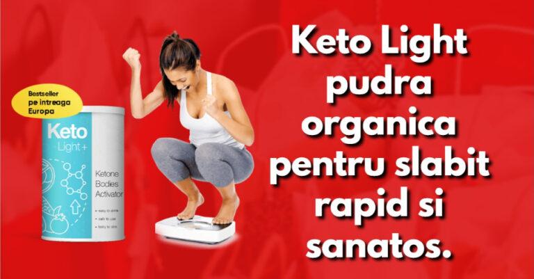 Keto Light pudra organica pentru slabit rapid si sanatos.