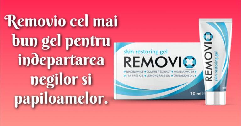 removio gel pentru eliminarea negilor