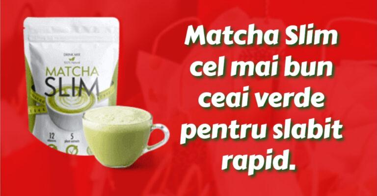 ceai verde matcha slim